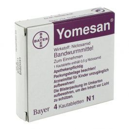 Yomesan Tabletki do żucia 500 mg