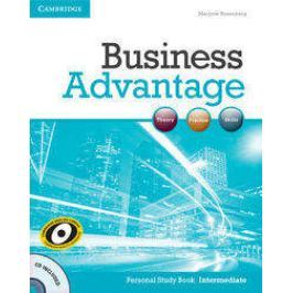 Business Advantage Intermediate Personal Study Book + CD - Marjorie Rosenberg