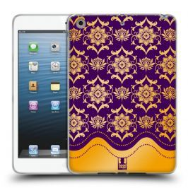 Etui silikonowe na tablet - MODERN BAROQUE PURPLE