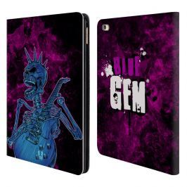 Etui portfel na tablet - Skull Of Rock Blue Gem